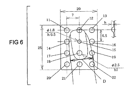 Keyboard Grid Patent