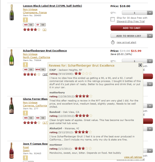 Wine.com Ratings